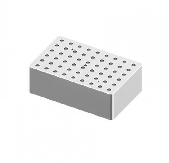 Heating block, used for 0.2mL tubes, 54 holes_DLAB