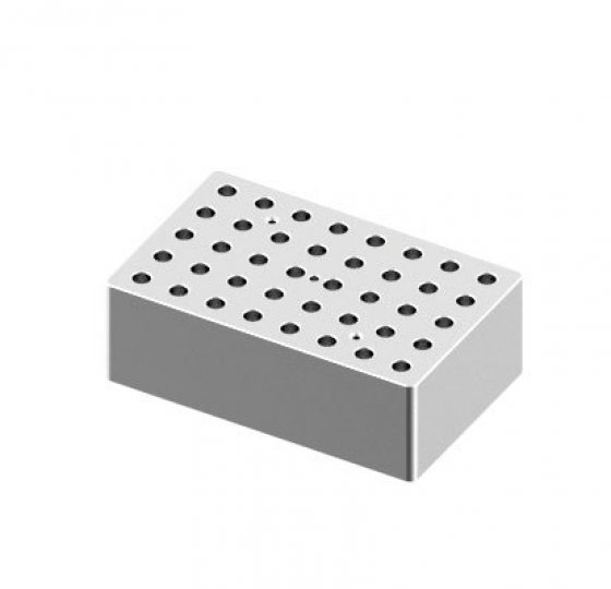 Heating block, used for 0.5mL tubes, 40 holes_DLAB