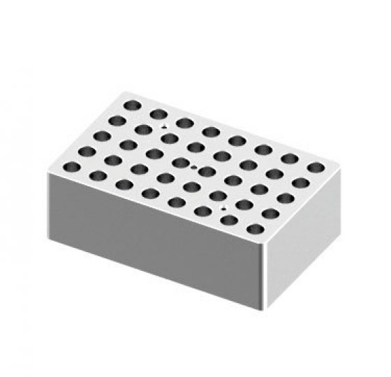 Heating block, used for 2mL tubes, 40 holes_DLAB