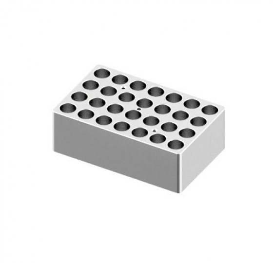 Heating block, used for 5/15mL tubes, 28 holes_DLAB