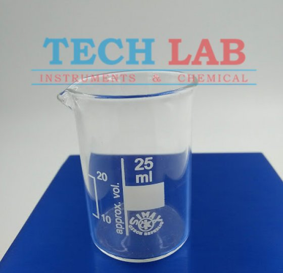 BEAKERS, LOW FORM, WITH SPOUT 25ML_SIMAX