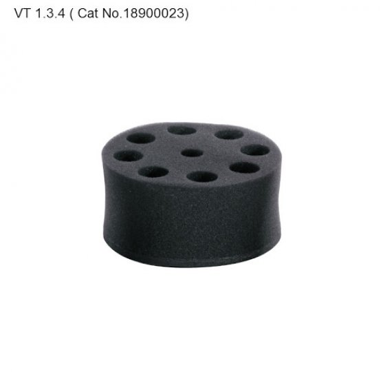 Tube adapter, for 8 holes test tubes, 16mm VT1.3.4_DLAB