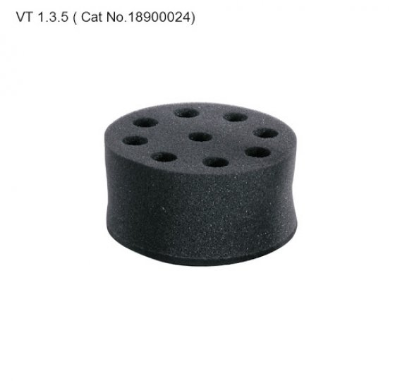 Tube adapter, for 8 holes test tubes, 20mm VT1.3.5_DLAB